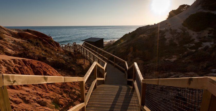 The Epic Sana Resort, Algarve, to the Beach