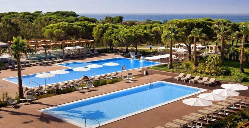 The Epic Sana Resort, Algarve, Main Pool Area