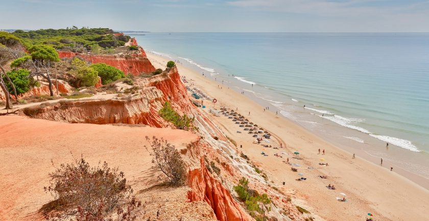 The Epic Sana Resort, Algarve, Aerial Beach View