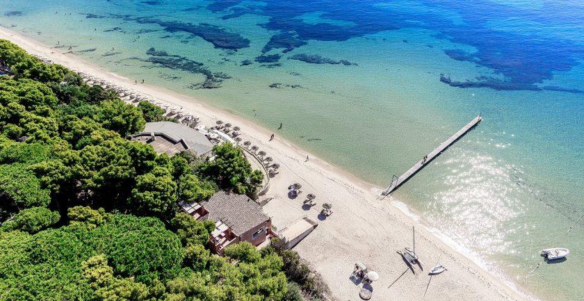 Forte Village Resort Aerial Beach