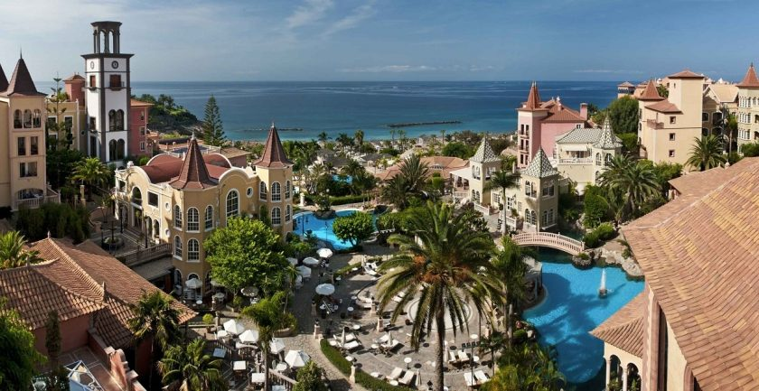 Gran Hotel Bahia Del Duque Resort, Aerial Shot