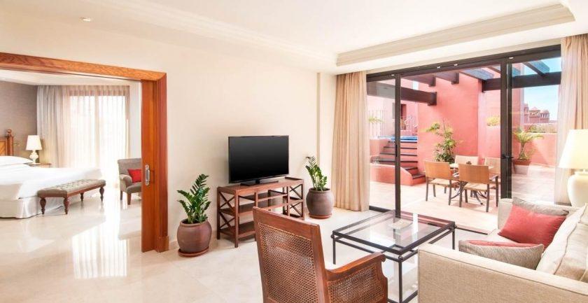 Sheraton La Caleta Club Terrace Suite