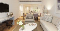 Ocean Suite With 2 Bedrooms Living Room