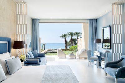 Junior suite with private garden