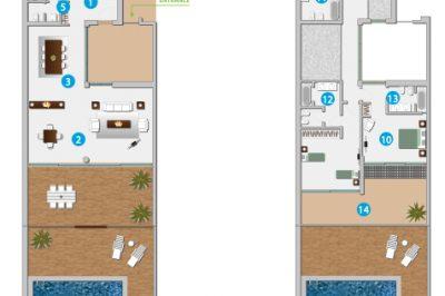 Three Bedroom Villas