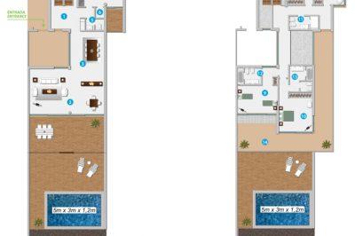 Four Bedroom Villas